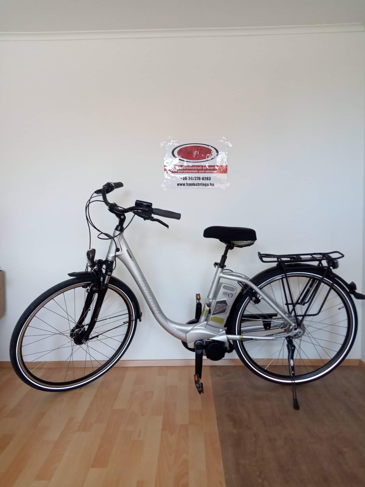 28 Női elektromos kerékpár - Azonosító #E01